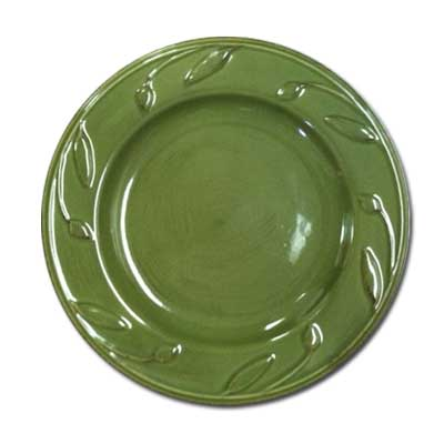 8In. Salad Plate Green