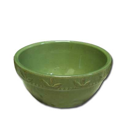 6 In. Utility Bowl - Green