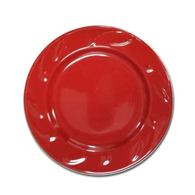 8 In. Salad Plate - Ruby