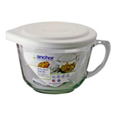 2Qt Batter Bowl W-White Lid
