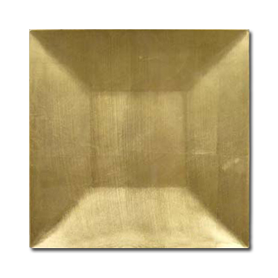 11.75Inch Square Charger Plate-Gold