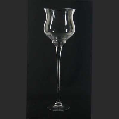 24In. Bell Shape Stemware Vase