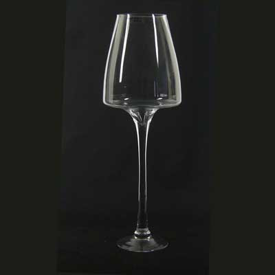 24In. Cone Shape Stemware Vase